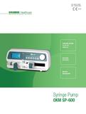 SP600 SYRINGE PUMP