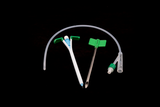 Silicone Balloon Suprapubic Catheter Set