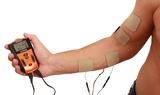 SPORÉCUP XTR 2 - Anwendung zur Muskelstimulation Bizeps und Handbeuger (Beispiel)