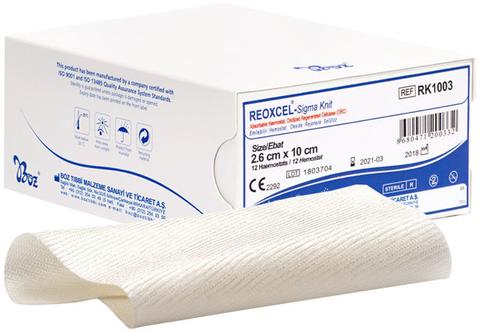 reoxcel sigma knit hemostatlar heamostads kanama durdurucu boz tıbbi 2
