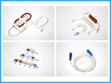 One way infusion set
