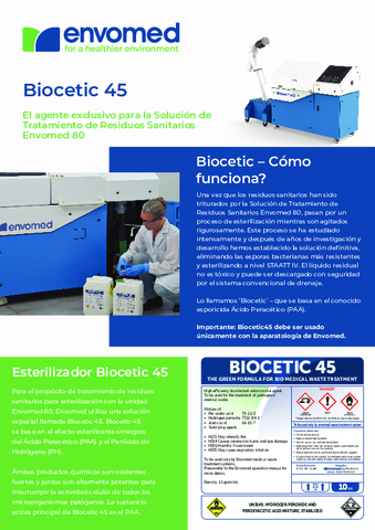 Biocetic Brochure Spanish