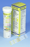 Urinalysis with test strips