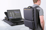 Super lightweight, portable backpack X-ray system