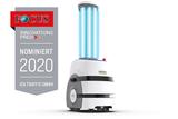 UV-C disinfection robot [HERO21]