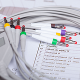 EKG-Kabel und -Drähte