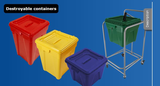 Destroyable containers