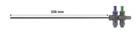 10 mm trumpet valve and pistol handle