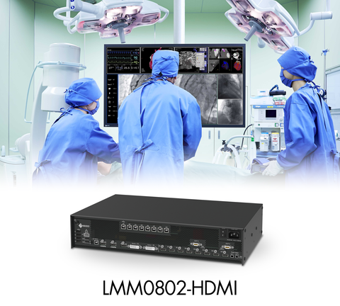 EIZO Releases Large Monitor Manager with Triple 4K Output for Increased Flexibility and Efficiency in the Operating Room