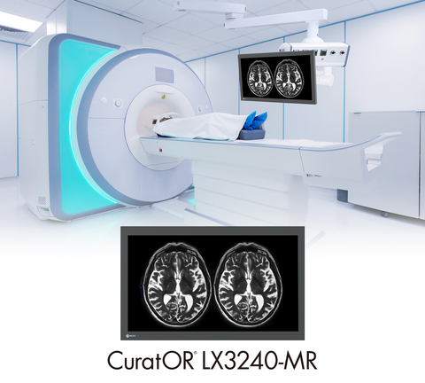 """EIZO Releases Its First 32"""" 4K Resolution Surgical Monitor for Magnetic Resonance Imaging"""