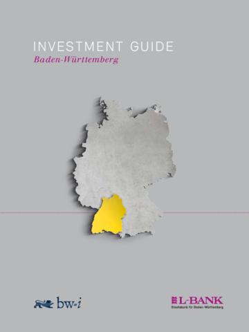 Investment Guide Baden-Württemberg