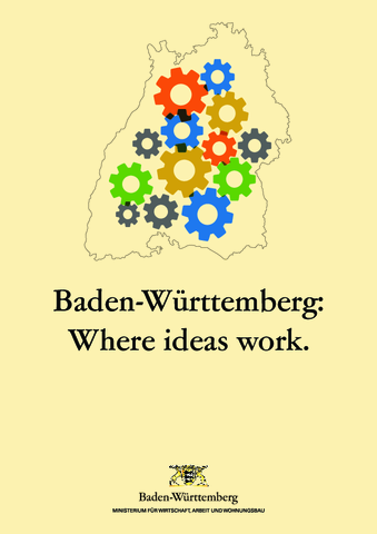 Baden-Württemberg Standort Broschüre