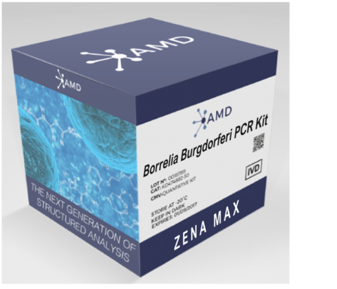 (AMD) Borrelia burgdorferi qPCR detection kit CE-IVD