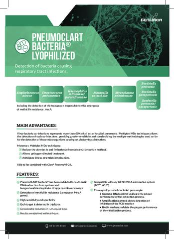 PneumoCLART Bacteria