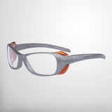 MAVIG BR126 - Strahlenschutzbrille mit seitlichen Strahlenschutzzonen_Sandstone/Orange