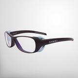 MAVIG BR126 - Strahlenschutzbrille mit seitlichen Strahlenschutzzonen_Cocoa/Light Blue