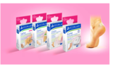 Line of protective patches for feet and blisters