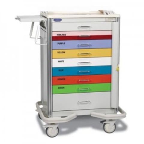 A Smart Premier Aluminum Broselow Pediatric Cart PBL PC 9