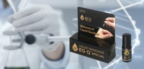 Angewandtes wasserdichtes Band Premium-Flüssigkeitsband EG-Q Sondereinführung.