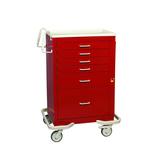 MPD Medical 6-Drawer Emergency Cart with Breakaway Lock