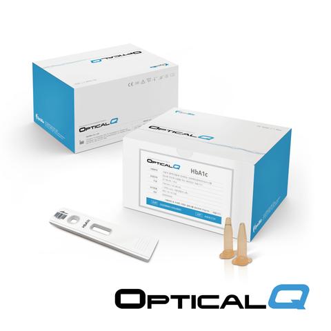 Optical Q - HbA1c Immunoassay Test Kit