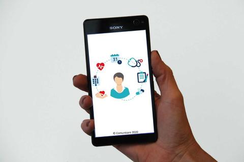 """""""COMUNICARE ist eine Plattform für die Begleitung chronisch Kranker mit Patientenanwendungen ( DIGA )."""