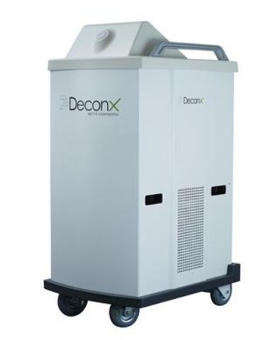 """DESINFEKTIONSROBOTER DECONX DX1"