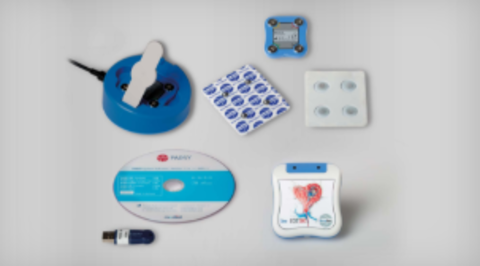 """Der Mini Holter Recorder mit """"Patch"""" Elektrode"""