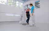 Rehab gait training obstacles