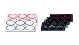 Wiederverwendbare Glasobjektträger für Latex-Tests
