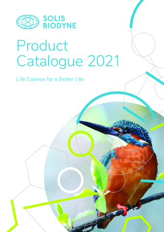Solis BioDyne Product Catalogue 2021 | Free samples for every product
