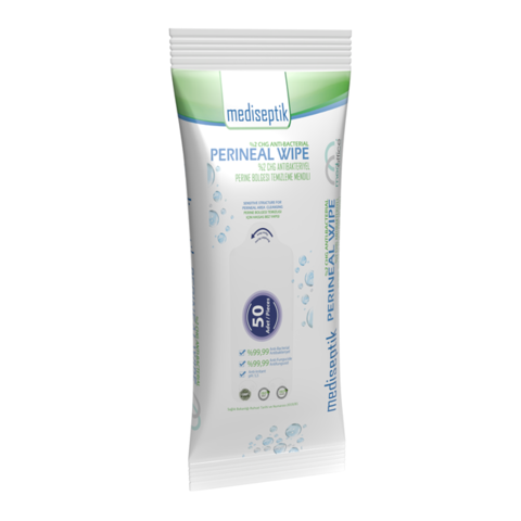 Anti-Bacterial Perineal Area Cleaning Wipes